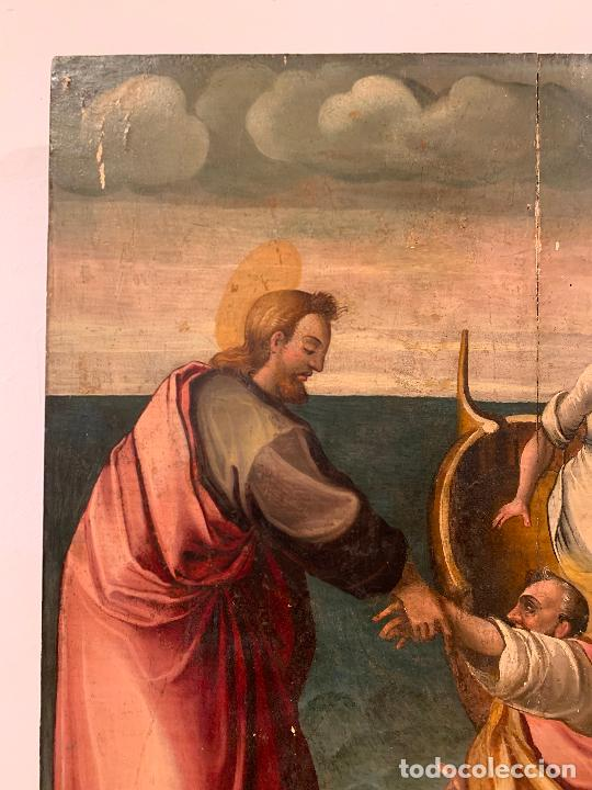 Arte: Retablo religioso de madera xvi-xvii - Foto 5 - 285149333