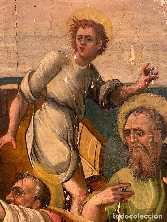 Arte: Retablo religioso de madera xvi-xvii - Foto 6 - 285149333