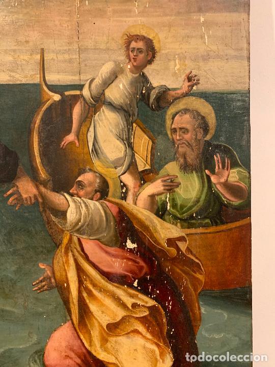 Arte: Retablo religioso de madera xvi-xvii - Foto 7 - 285149333