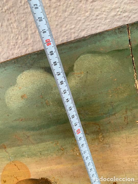 Arte: Retablo religioso de madera xvi-xvii - Foto 10 - 285149333