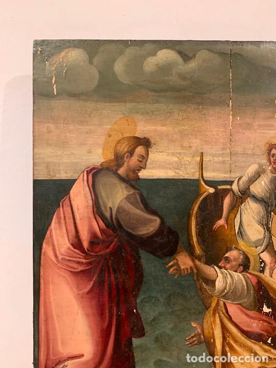 Arte: Retablo religioso de madera xvi-xvii - Foto 13 - 285149333