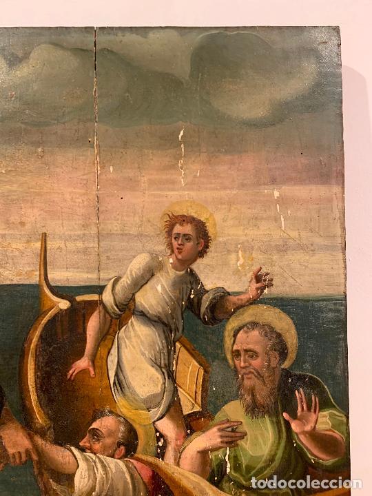 Arte: Retablo religioso de madera xvi-xvii - Foto 14 - 285149333