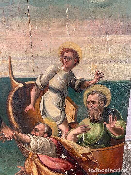 Arte: Retablo religioso de madera xvi-xvii - Foto 18 - 285149333