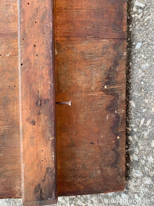 Arte: Retablo religioso de madera xvi-xvii - Foto 27 - 285149333