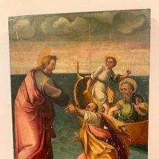 Arte: RETABLO RELIGIOSO DE MADERA XVI-XVII. Lote 285149333