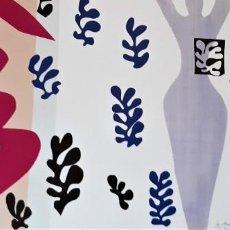 """Arte: HENRI MATISSE """" LE LANCEUR DE COUTEAUX"""". Lote 285402503"""