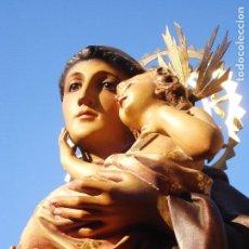Arte: EL RENACIMIENTO DE OLOT SAN ANTONIO DE PADUA CON NIÑO DORADO AL ORO FINO. Lote 285650468