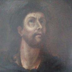 Arte: MUY ANTIGUO ECCE HOMO / ÓLEO SOBRE LIENZO / XVIII-XIX. Lote 285962768