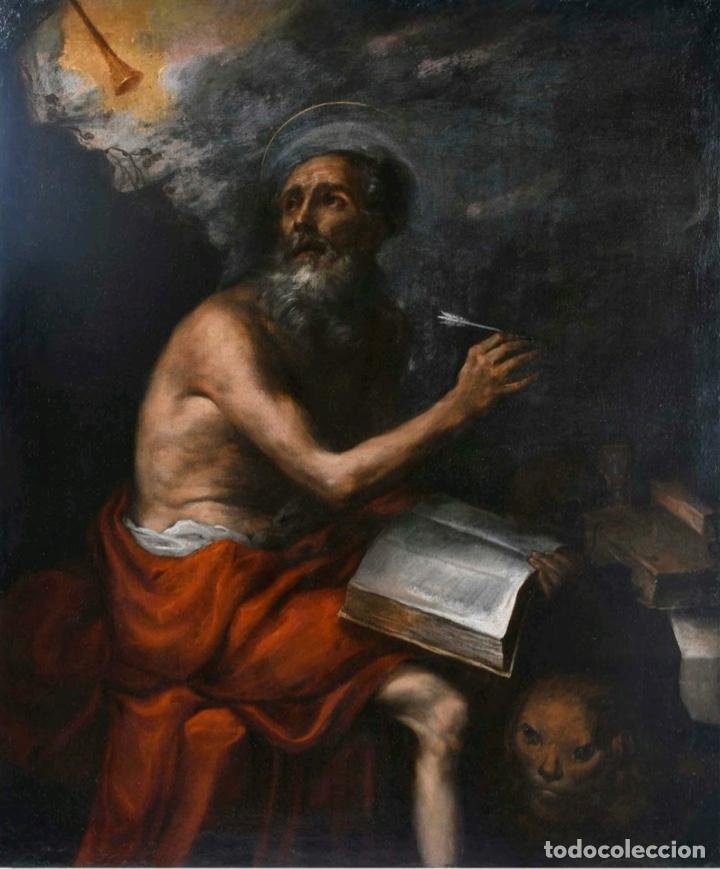ESCUELA MADRILEÑA SIGLO XVII. CÍRCULO DE JUAN CARREÑO DE MIRANDA (Arte - Arte Religioso - Pintura Religiosa - Oleo)