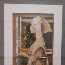 Arte: LITOGRAFIA JOSEP BAQUÉS, SIGNADA I CERTIFICADA. Lote 286507183
