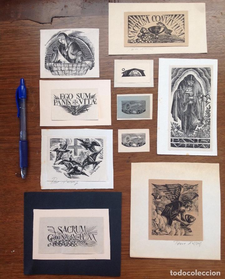 ENRIC RICART - XILOGRAFÍAS (Arte - Arte Religioso - Grabados)