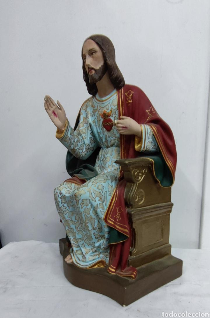 SAGRADO CORAZÓN DE JESÚS (Arte - Arte Religioso - Escultura)