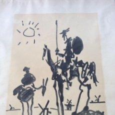 Arte: PABLO PICASSO -LITOGRAFÍA ORIGINAL AÑO 1955,EDITÉ PAR LAS LETTRES FRANCAISES ,. Lote 286900803