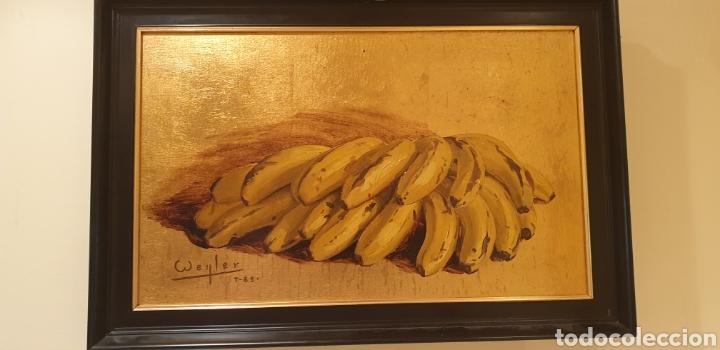Arte: Óleo sobre tabla con pan de oro - Foto 2 - 286902268