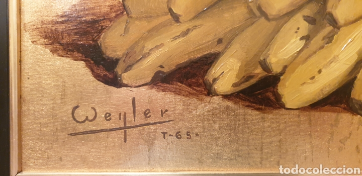 Arte: Óleo sobre tabla con pan de oro - Foto 3 - 286902268