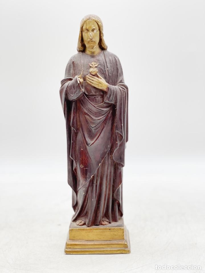 ANTIGUA FIGURA DE CRISTO (Arte - Arte Religioso - Escultura)