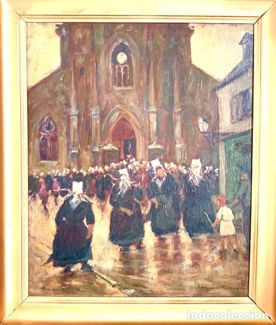 Arte: PINTURA RELIGIOSA OLEO SIGLO XVIII FIRMADO - Foto 3 - 287098698