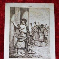 Arte: COLECCIÓN DE 121 ESTAMPAS CON ESCENAS BÍBLICAS. GRABADO SOBRE PAPEL. ESPAÑA. XVIII-XIX. Lote 287228188