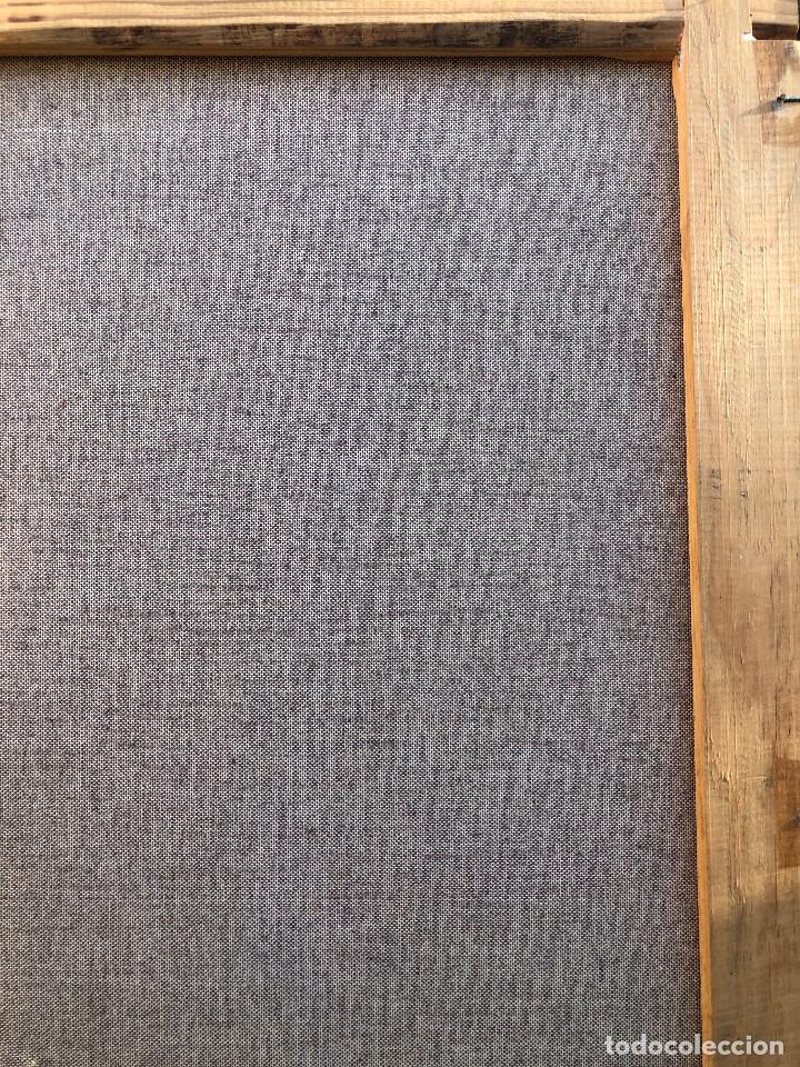 Arte: ANTIGUO GRAN ÓLEO SOBRE LIENZO FIRMADO ¿RIZGA? TEMÁTICA BUCÓLICA NOREUROPEA ¿ESCUELA HOLANDESA XIX? - Foto 8 - 287348798