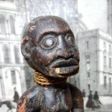 Arte: ARTE ÉTNICO AFRICANO. FETICHE NKISI. BAKONGO YOMBE DEL TIPO NKONDI.CONGO.ÁFRICA.. Lote 287452408