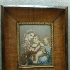Arte: CUADRO RELIGIOSO ANTIGUO. Lote 287665998