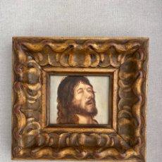 Arte: ÓLEO CRISTO SOBRE TABLA. Lote 288010208