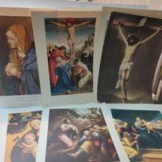 Arte: LÁMINAS HUECOGRABADO MOTIVOS RELIGIOSOS JUAN BARGUÑO LOTE 9. Lote 288207923