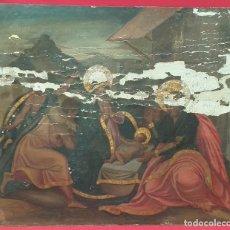 Arte: ANTIGUO RETABLO NACIMIENTO SIGLO XVIII PARA RESTAURAR. Lote 288878798