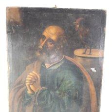 Arte: OLEO SOBRE LIENZO, SAN PEDRO. S.XVIII.. Lote 293620943