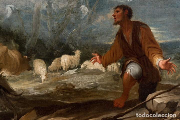 Arte: JUAN ANTONIO DE FRIAS Y ESCALANTE San Pascual Bailón Magnífico Óleo sobre lienzo catalogado - Foto 2 - 144468086