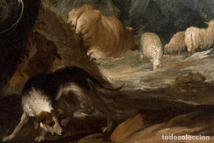 Arte: JUAN ANTONIO DE FRIAS Y ESCALANTE San Pascual Bailón Magnífico Óleo sobre lienzo catalogado - Foto 3 - 144468086