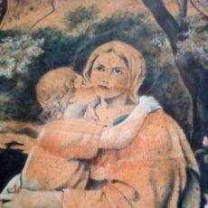 Arte: GRAN OLEO DE IGLESIA, FIRMADA Y FECHADO NADAL 1927. Lote 294149963