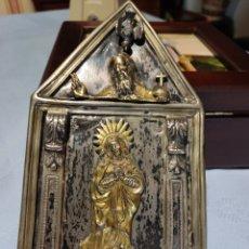 Arte: ARTE RELIGIOSO, PLATA, MAISON, CON EMPUÑADURA, ANTIGUO. Lote 295412883