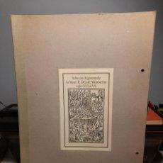 Arte: SELECCIO DE GRAVATS DE LA VERGE DE MONTSERRAT ( 11 LAMINAS). Lote 295682773