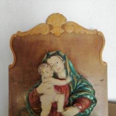 Arte: ANTIGUA IMAGEN RELIGIOSA.. Lote 295750693