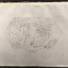 Arte: EL BAUTIZO DE JESUS, RAFAEL SANZIO, GRABADO COBRE Nº 60, FIRMIN DIDOT 1844.. Lote 296580383