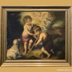 Arte: NIÑOS DE LA CONCHA, EXCELENTE COPIA, MURILLO. Lote 297083918