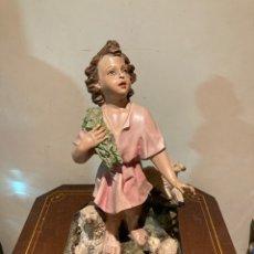 Arte: BONITA FIGURA ANTIGUA RELIGIOSA. Lote 297090263