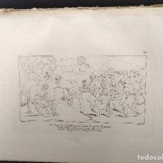 Arte: LA COPA DE JOSE, RAFAEL SANZIO, GRABADO COBRE Nº 150, FIRMIN DIDOT 1844.. Lote 297157693