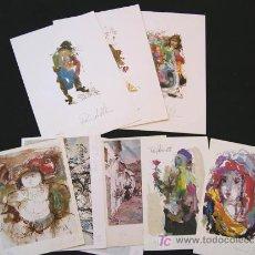 Arte: PINO LA VARDERA, LOTE DE 9 GRABADOS NUMERADOS Y FIRMADOS.. Lote 27160952