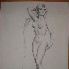 Arte: DESNUDO AÑOS 60. LITO. MUY BONITA. ENVIO GRATIS¡¡¡. Lote 11649024
