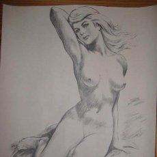 Arte: DESNUDO LITOGRAFIA AÑOS 60. MUY BONITA. ENVIO GRATIS¡¡¡. Lote 11649026
