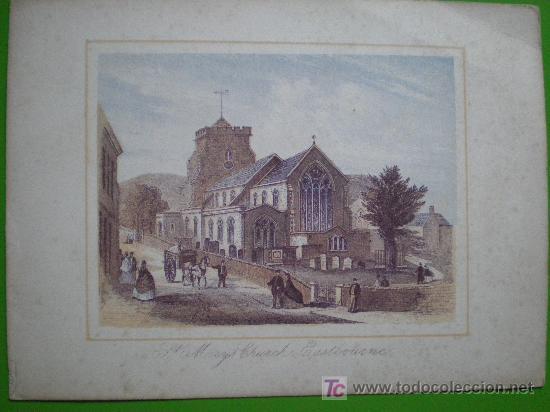 ST. MARY'S CHURCH, EASTBOURNE (Arte - Serigrafías )