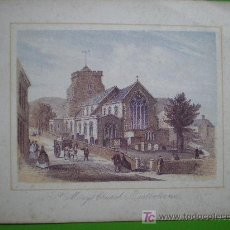 Arte: ST. MARY'S CHURCH, EASTBOURNE. Lote 18013849