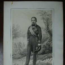 Arte - MILITAR. CAPITAN GENERAL DE LAS PROVINCIAS VASCONGADAS. 1856. 'RAFAEL DE MAYALDE VILLARROYA'. - 11068676