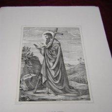 Arte: SAN FELIPE,Y SAN MATEO.. ..DE LA COLECCION DE LITOGRAFIAS.GALERIA CATOLICA.. Lote 26593622