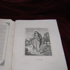 Arte: SANTA MAGDALENA Y SANTA TECLA.DE LA COLECCION DE LITOGRAFIAS.GALERIA CATOLICA.. Lote 32138884