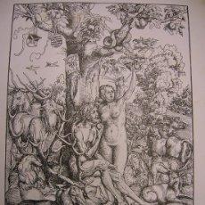 Arte: ADAN Y EVA EN EL PARAISO. S.XIX.. Lote 12029842