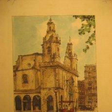 Arte: BILBAO. SAN NICOLAS. 20 X 15 CM.. Lote 21894306