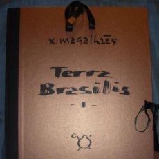 Arte: CARPETA SERIGRÁFICA DE XAVIER MAGALHÂES, TITULADA: TERRA BRASILIS I. Lote 12919663